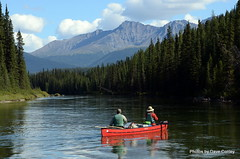 Pelly-mountains-Liard-canoe