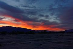 Zachód słońca w Dolinie Śmierci | Sunset in Death Valley