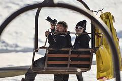 Ski Lift (RickCaldera) Tags: snow ski lift framing bigbear