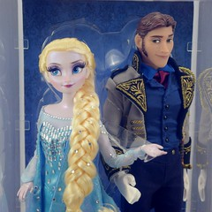 2015 DFDC Snow Queen Elsa and Hans Doll Set - Disney Store Purchase - Boxed - Slipcover Off - Midrange Front View (drj1828) Tags: frozen us hans prince boxed purchase elsa disneystore snowqueen 2015 disneyfairytaledesignercollection