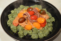 Green Gnochi with Heritage Baby Tomato (Tony Worrall) Tags: uk england food baby green heritage make tomato menu yummy nice with dish photos tag cook tasty plate eaten things images x made eat foodporn add meal taste dishes cooked tasted gnocchi grub iatethis foodie flavour plated foodpictures ingrediants gnochi picturesoffood photograff foodophile ©2016tonyworrall