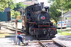 Almost Done for the Day (craigsanders429) Tags: steamlocomotives arcadenewyork arcadeattica arcadeatticano18