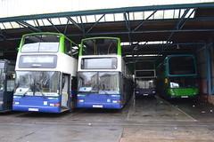 Notts & Derby 31 W475BCW - 39 X683RDA - 38 W296PFS - 49 YN53CFL (Will Swain) Tags: city nottingham uk travel england dublin bus london buses is britain derbyshire united transport january vehicles trent 49 vehicle depot barton former 31 24th 39 derby tb midland 38 lothian nct midlands 296 demonstrator notts 2016 297 738 vp2 wellglade vp127 w475bcw yn53cfl w296pfs wdf297 x683rda 00d31073
