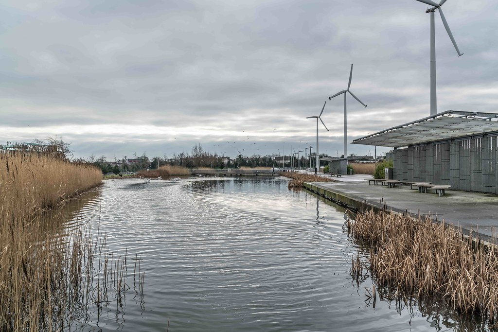 Wind Powered Public Park In Clongriffin Dublin [Father Collins Park]-110961