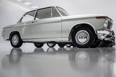 BMW 02 Series (amiglia) Tags: auto show white cars car wheel museum germany munich mnchen room indoor clean bmw 3er