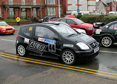 Citroen C2 (DaveWilcock) Tags: west rally north citroen stages c2 fleetwood northweststagesrally2016
