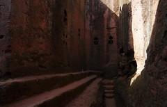 Lalibela rock-hewn church wonders (Gregor  Samsa) Tags: africa november church ancient unesco adventure journey sight ethiopia exploration orthodox worldheritage lalibela eastafrica rockcut rockhewn