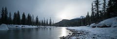 rocky mountians-17 (Ken Wiebe) Tags: trees snow mountains water alberta banff lakelouise castlemountain bowlake marblecanyon brittishcolumbia january2016