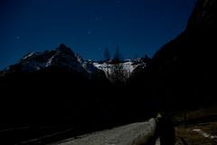 Val di Mello (a_tardivo) Tags: stars bynight luna moonwalk notte guida stelle valtellina granito camminata valdimello ciaspolata ramponi orione starsinthesky cielodinotte cinturadorione colpidiluna