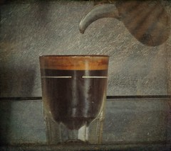 The Expresso (clarkcg photography) Tags: glass coffee shot rich bean foam expresso caffine