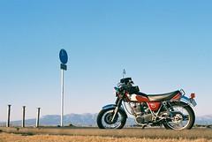 (r.ryo99) Tags: film canon motorcycle fujifilm eos3    sr400 superiapremium400