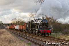 GCR-WINTER-GALA-65 (Steven Reid - Reid Photographic) Tags: railroad heritage train vintage smoke engine railway steam locomotive steamengine 280 stainer steamlocomotive lms 2016 greatcentralrailway gcr 8f wintergala heritagerailways 48624 8fclass