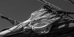 Furled Power (Jim_In_Plymouth) Tags: summer water wisconsin ships sails lakemichigan greenbay tallships