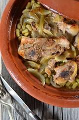 tajine au four (zesttangerine) Tags: plat recette tajine agneau flageolet