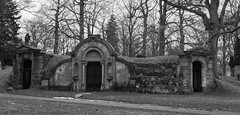 Woodland Cemetary London Ontario (c.macp) Tags: winter bw white history grave 35mm death back nikon cemetary nikkor crypt londonontario woodlawn d7100 f18g