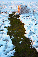 Back in the Ice Age (Canis Major) Tags: snow iceage snowball rolling coldwinter eastville eastvillepark sixyearsago