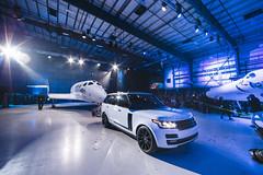 Range Rover Helps Unveil New Virgin Galactic SpaceShipTwo At Global Reveal And Naming Ceremony (landrovermena) Tags: california usa rangerover spaceport richardbranson virgingalactic spaceshiptwo mojaveairandspaceport rangeroverautobiography virgingalacticspaceshiptwo