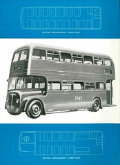 Metropolitan Cammell Weymann Ltd - MCW 'Orion' lightweight double deck omnibus body brochure, 1952 (mikeyashworth) Tags: staffordshire 1952 mcw pmt potteriesmotortraction technicaldrawings mcworion metropolitancammellweymannltd orionbusbody oriondoubledeckbusbody doubledeckbusbodyspecification orionlightweightbusbodybrochure