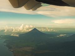 Mayon Volcano From Above (edwin.canlapan) Tags: sky clouds volcano philippines mayon albay mayonvolcano