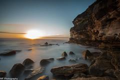 Blow out (Mick Fletoridis) Tags: longexposure sea seascape sunrise rocks sydney australia cliffs canonlens leefilters sonyimages sonya7s