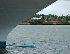 U Shaped Bow (mikecogh) Tags: port ship hamilton bow u shape brisbaneriver distinct seaprincess