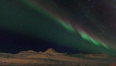 Night in Faskrudsfjordur (*Jonina*) Tags: longexposure mountains night iceland 500views sland northernlights auroraborealis ntt fjll norurljs 25faves fskrsfjrur faskrudsfjordur jnnagurnskarsdttir digritindur february29th2016