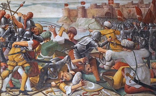 La conquête de Rhodes (La Valette, Malte)