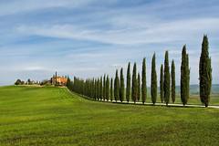 Il poggio (marypink) Tags: sky landscape perspective cielo tuscany toscana valdorcia casale poggio cipressi 2470mmf28 castiglionedorcia nikond5200