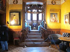2012 01 04 Germania - Baden Wurttemberg - Burg Hohenzollern - Salone blu_0325 (Kapo Konga) Tags: castello germania burghohenzollern appartamenti badenwurttemberg ambientiinterni