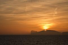 ccsrdm (APINTUS) Tags: sardegna costa tramonto nuvole mare sole capo alghero caccia solearancio