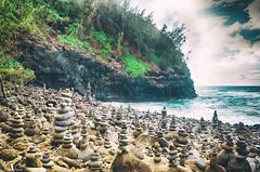 Hanakapi'ai Beach (Amal.Nair) Tags: ocean beach water rock hawaii sony trail kauai kalalau hanakapiai rx100m3