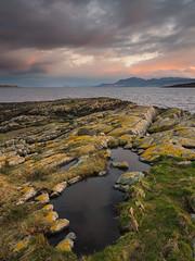 St. Ninian's Point (Damian_Ward) Tags: sea mountains photography scotland arran bute isleofbute argyllandbute soundofbute stniniansbay straad damianward buteandargyll stninianspoint eileanbhid eileanbhdach damianward