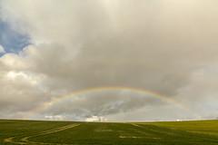 Rainbow over Ramsbury (micheltennisfan) Tags: rainbow arcenciel