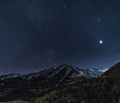 Jupiter Rising (Charles' Snaps) Tags: canon landscape sigma mammoth astrophotography monolake sierranevada easternsierras longexposures californiagold sigmalenses canon6d sigmaart24mm