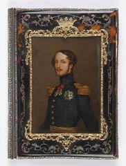 Cartera de notas del general Prim (carey, plata, bronce y seda, ca. 1840) (Museo del Romanticismo) Tags: juan general xix miniatura prim siglo