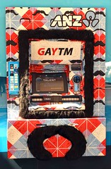 GAYTM (stephen trinder) Tags: gay money fur funny joke sydney bank moustache homosexual atm playful banking anz bight sydneyaustralia gaytm stephentrinder stephentrinderphotography