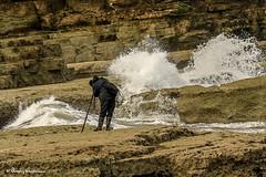 243-Editrz (Bev Cappleman) Tags: waves wave splash breakingwave thornwickbay