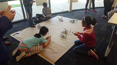 littleBits Gizmos and Gadgets: DrawBot (plano.library) Tags: littlebits harringtonlibrary families art steam steamprogramming familyprogramming plano planopubliclibrary
