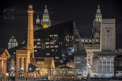 The Allspark is located......... (alun.disley@ntlworld.com) Tags: longexposure architecture night liverpool buildings cityscape pierhead albertdock mannisland portsandharbours liverpoolwaterfront