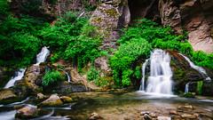 Big Springs (HikerDude24) Tags: park outdoors utah nationalpark nikon hiking national backpacking springs bigsprings zion zionnationalpark narrows bigspring d5100