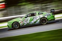 Nathan Stacy in his #14 Ford Mustang Boss 302 (Dan Volkens) Tags: world car automobile fuji automotive racing fujifilm challenge motorsport pirelli midohio xt1 50140