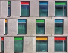 Windows (Nige H (Thanks for 4.6m views)) Tags: windows colour building architecture modern hospital bristol colourfulwindows