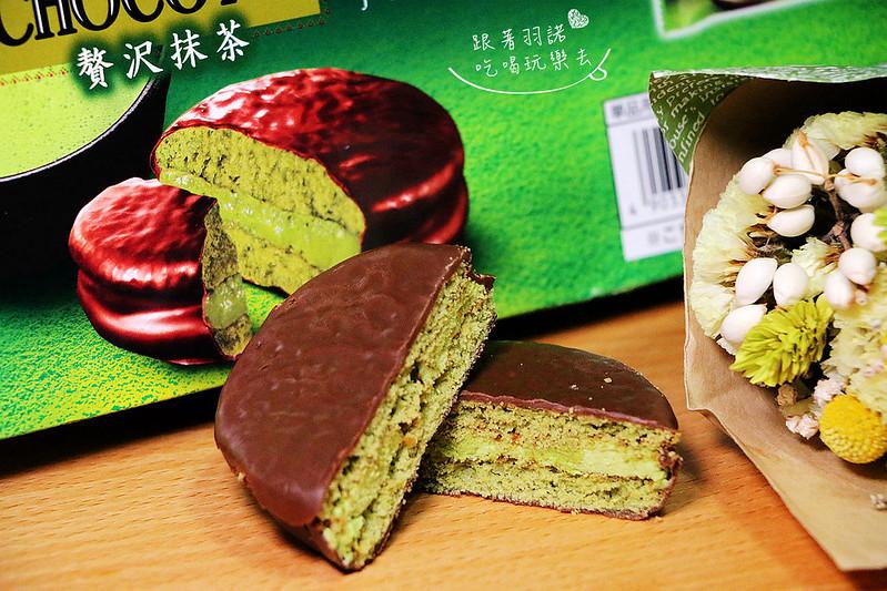 LOTTE日本樂天- CHOCO PIE奢華抹茶巧克力派17