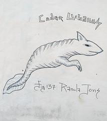 by Codex Urbanus [Paris 3e] (biphop) Tags: streetart paris france animal wall graffiti europe graff mur 137 codex bestiaire ranula urbanus jovis codexurbanus