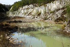 Germany - Viechtach - Groer Pfahl (st3000) Tags: nature germany bayern bavaria europe fuji outdoor 1855mm quarry niederbayern steinbruch bayerischerwald ois lache pfahl viechtach xpro1 groserpfahl onlyinbavaria