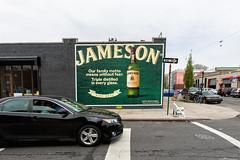 Jameson (Always Hand Paint) Tags: nyc green brooklyn advertising mural outdoor spirits ooh handpaint greenpoint colossal jameson streetlevel colossalmedia b201 muraladvertising spiritswine skyhighmurals alwayshandpaint kristalindahl jamesoncomplete jamesonpop