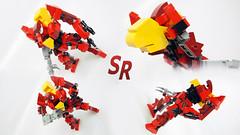 Code Geass Guren MK2 Original mini model 2 (shirokeima) Tags: anime robot code lego shiro mecha moc geass shirokeima