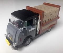 Keep on truckin' (Bennemans1984) Tags: old classic ford chevrolet car truck lego bricks pickup blocks trucks daf moc afol