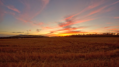 DARLING DOWNS SUNSET 30.04.2016 (16th man) Tags: sunset canon eos australia qld queensland toowoomba stubble wellcamp eos5dmkiii