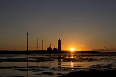 Sunset in Reykjavk (Benedikt Halfdanarson) Tags: sunset iceland sland grtta slarlag slsetur sunsetiniceland